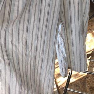 bp Other - Stripe tie front jumpsuit